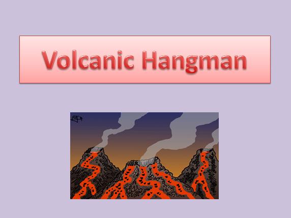 Volcanic Hangman