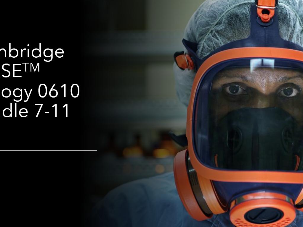Cambridge IGCSE Biology 0610, Topics 7-11