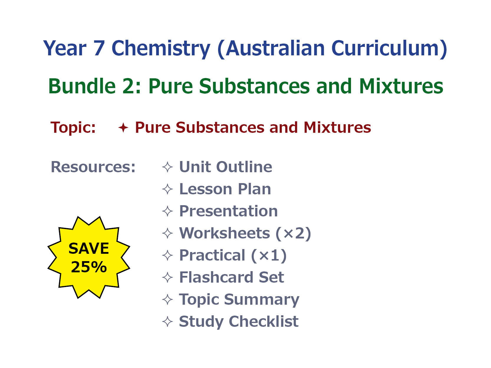 worksheet Mixture Worksheet 7au chemistry pure substance and mixtures bundle by goodscienceworksheets teaching resources tes
