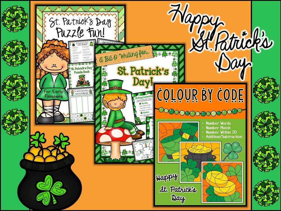 St. Patrick's Day Resource Bundle