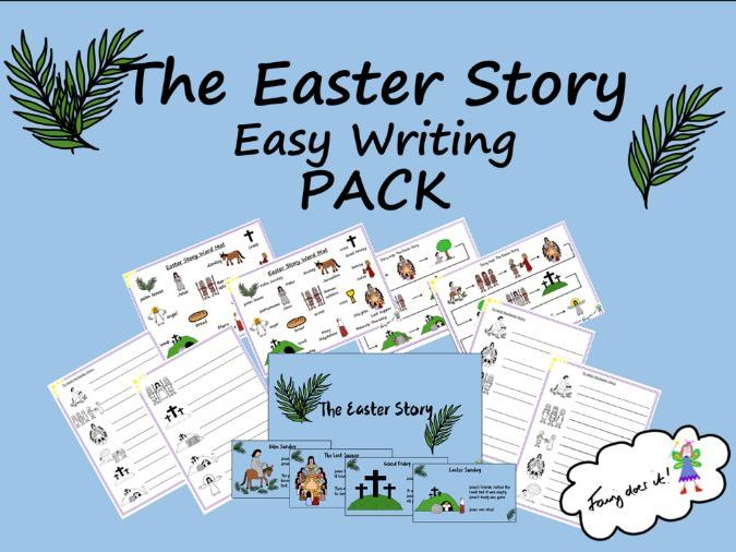 The Easter Story Easy Writing PACK
