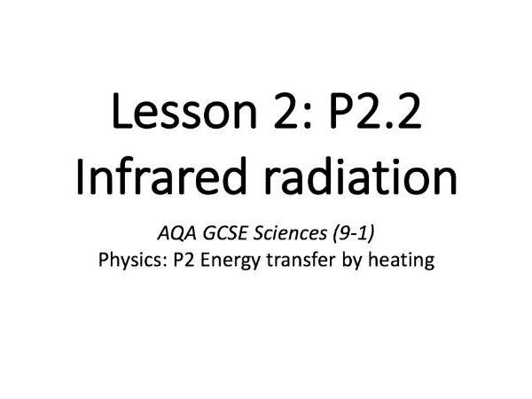 P2.2 Infrared radiation