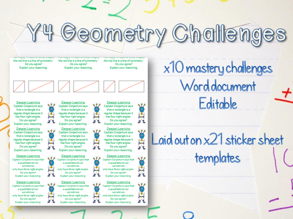 x10 Y4 Shape Mastery Challenges