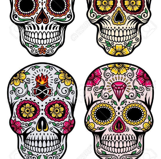 Day of the Dead Mask/Skull Design