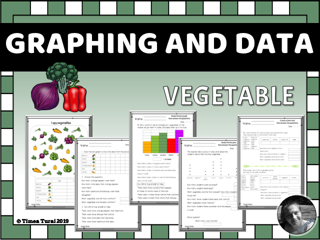 Graphing and Data -- Vegetable