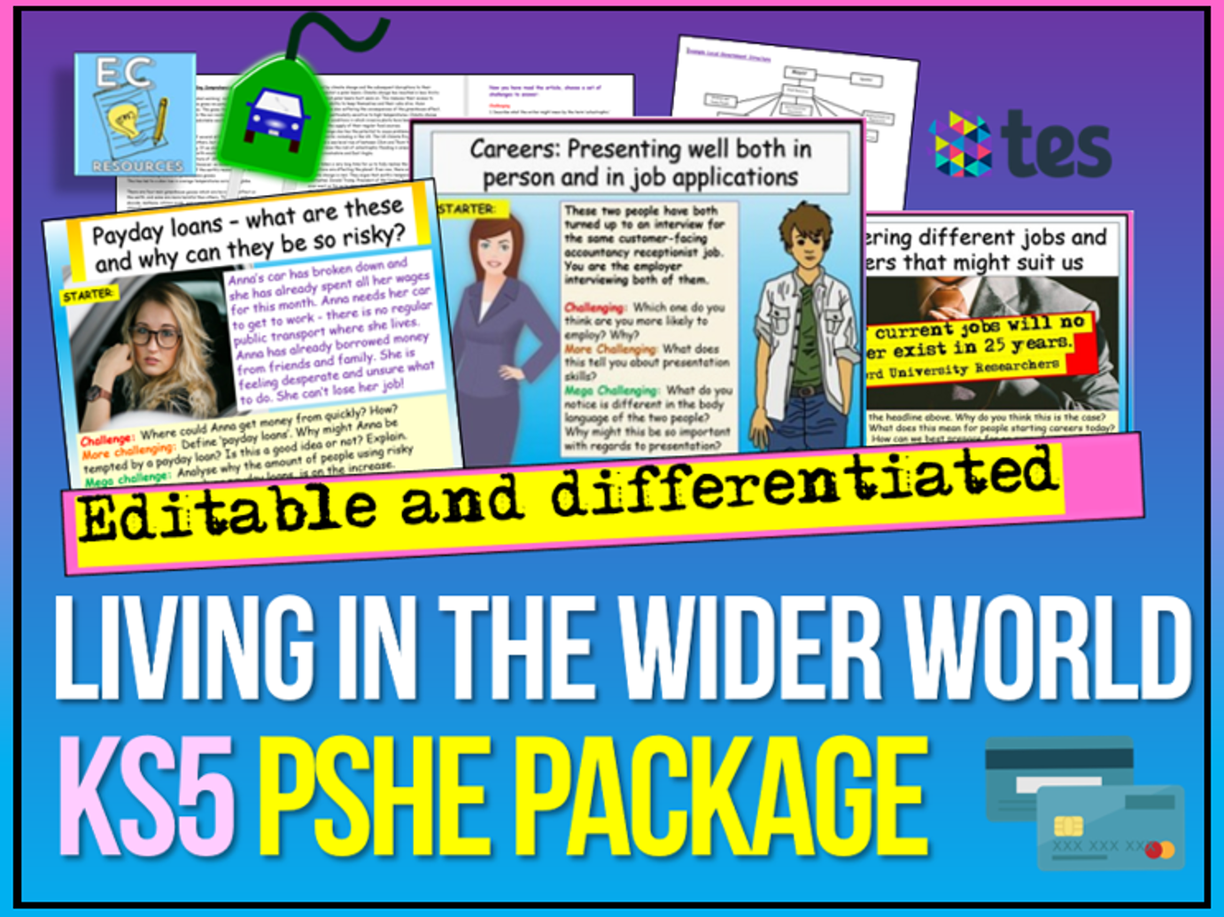 KS5 PSHE Living in the Wider World