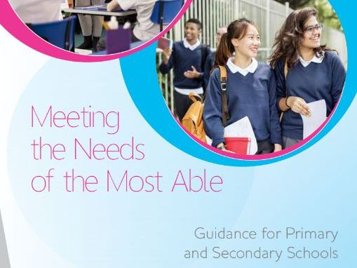 Meeting the Needs of the Most Able: Guidance for Primary and Secondary Schools