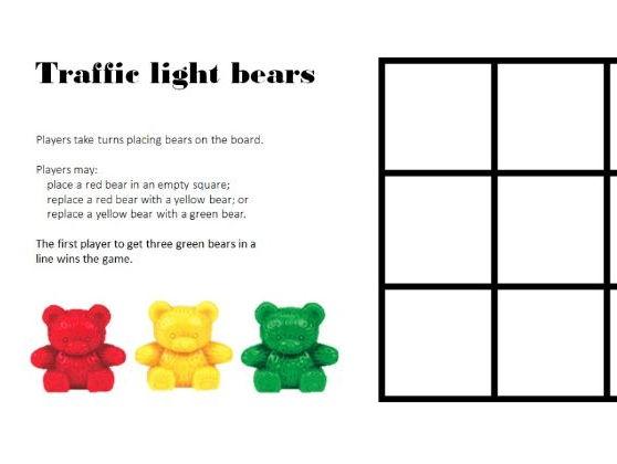 Traffic Lights Game - Printable & ActivInspire