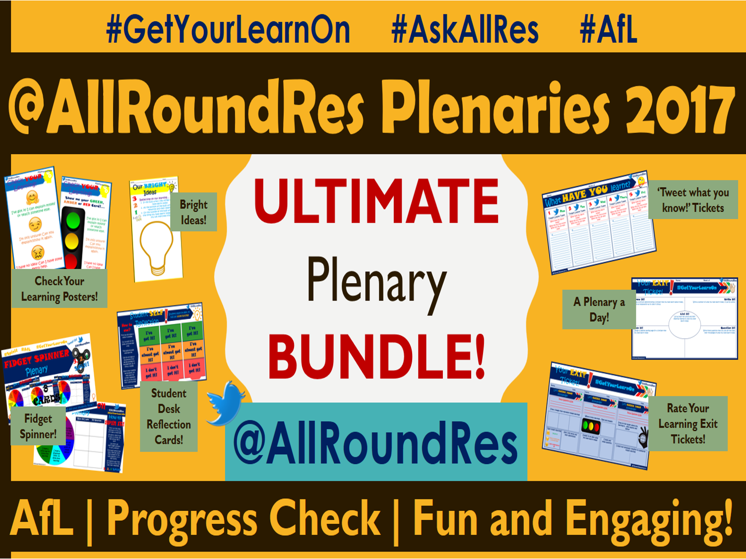 @AllRoundRes Plenary Activities 2017