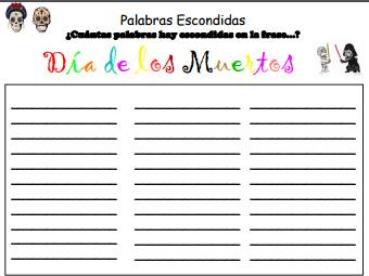 Dia de Los Muertos Activity Pack