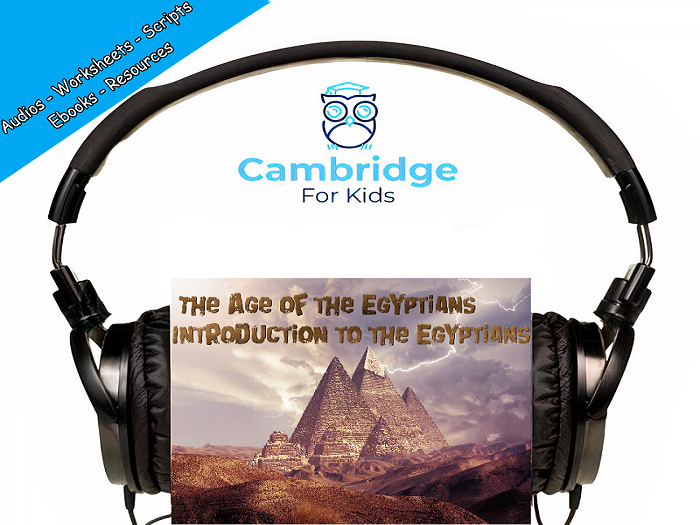 Who were the Ancient Egyptians? Audiobook & Comprehension Activities / Worksheets / eBooks