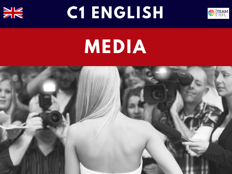 Media C1 Advanced ESL Lesson Plan