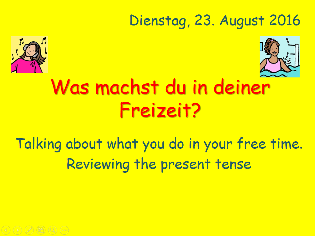 Freizeit - talking about what you do in your free time