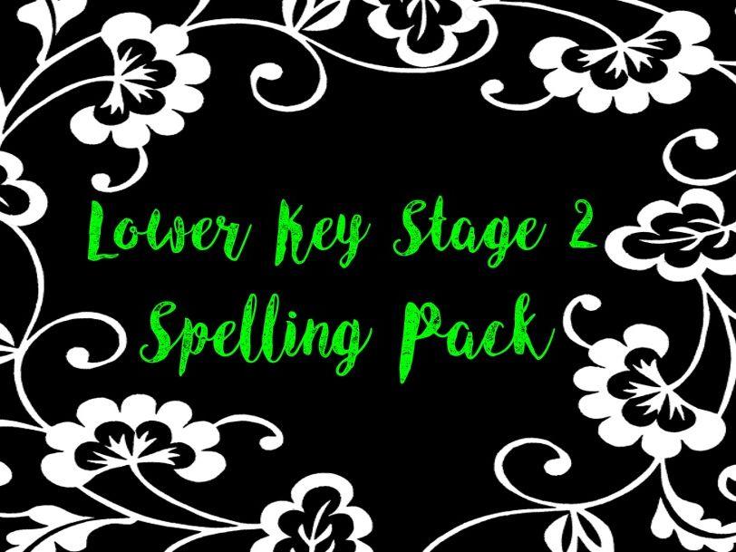 Lower Key Stage 2 Spelling Pack