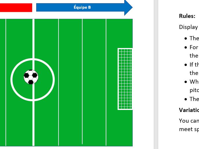 Le match de foot- GAME