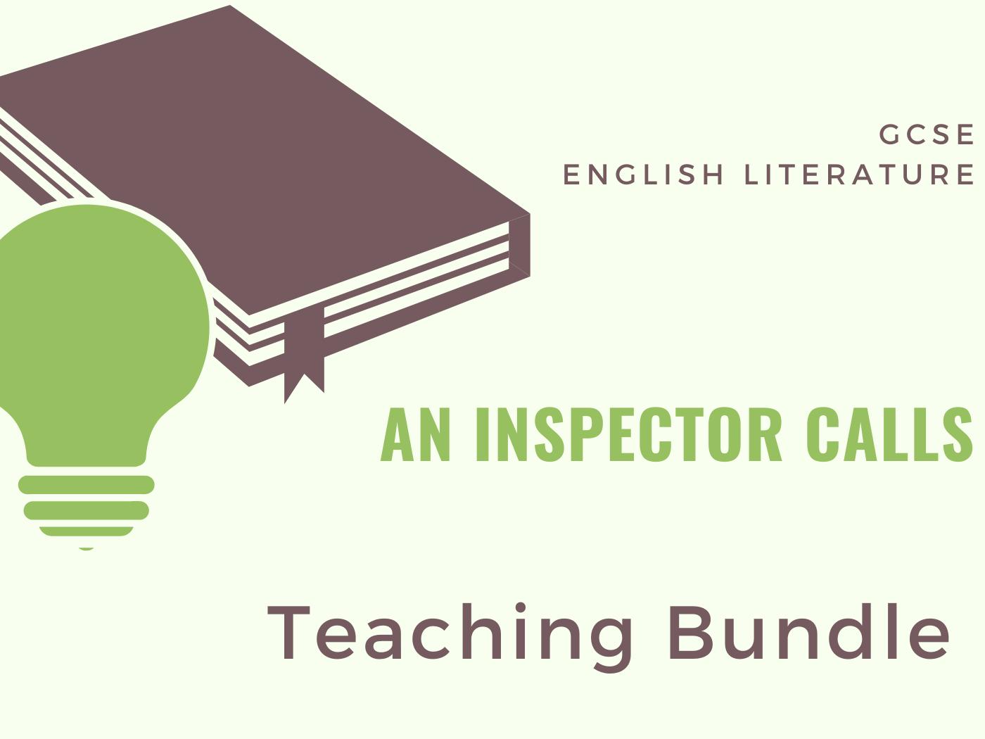 An Inspector Calls - Teaching Bundle