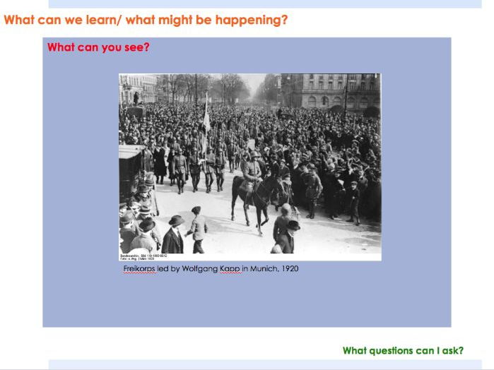 GCSE HISTORY: Nazi Germany: Threats to the Weimar Republic: Spartacist Uprising, Kapp Putsch
