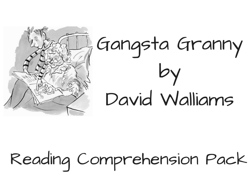 Gangsta Granny - Reading Comprehension