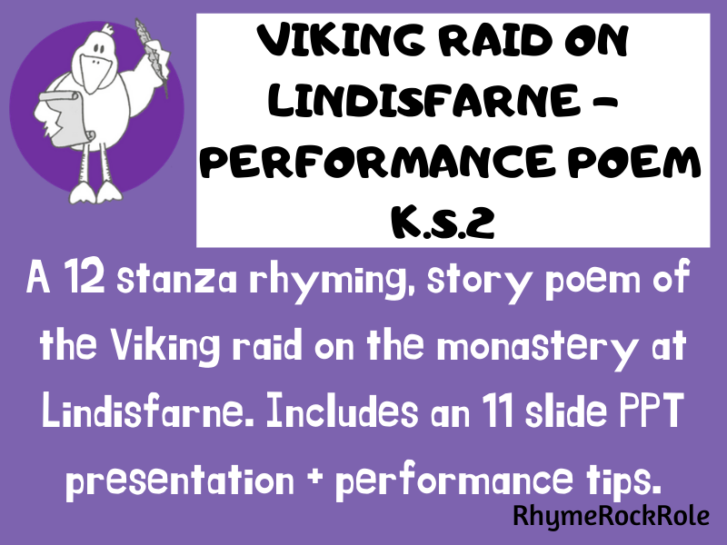 THE VIKINGS performance poem - K.S.2