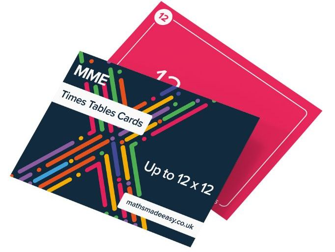 Times Table Flash Cards - Maths Made Easy