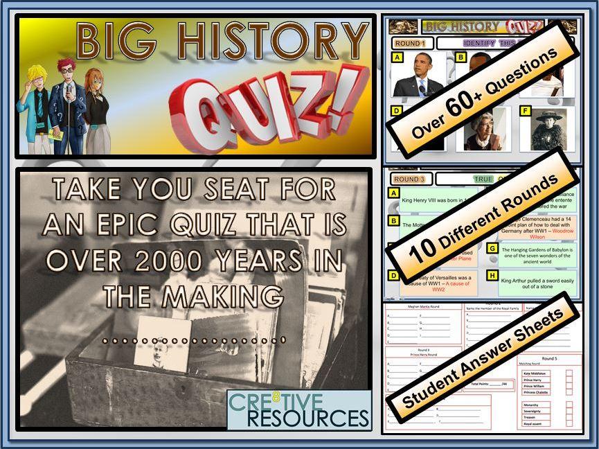 Big History Quiz