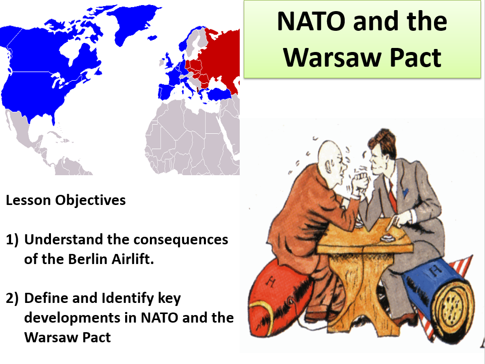 Nato And The Warsaw Pact Including Source Activity Sheet And