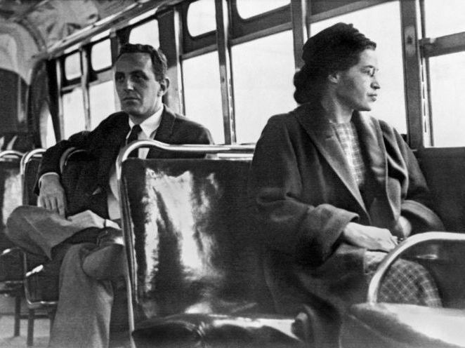 USA Home and Abroad: Rosa Parks, The Montgomery Bus Boycott & Martin Luther King