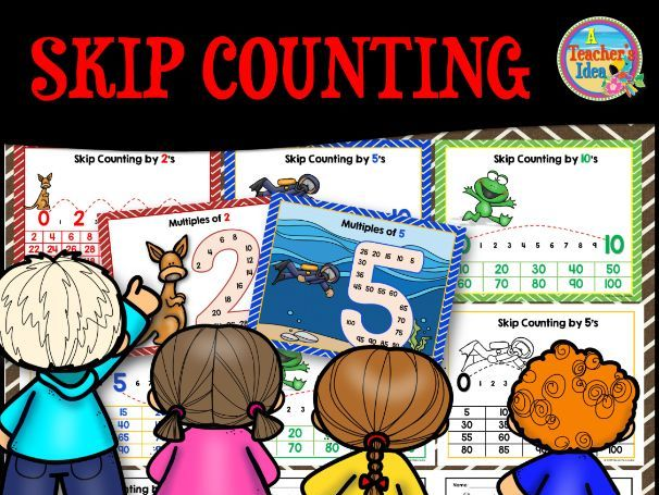 Skip Counting (Multiples) Posters