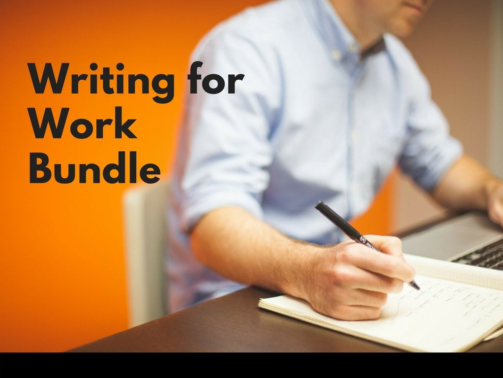 Writing Bundle - Common errors, Emails, Work Instructions
