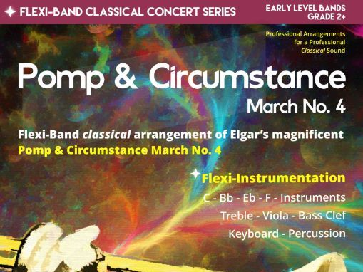 Pomp and Circumstance March No.4 (Flexi-Band Score & Parts)