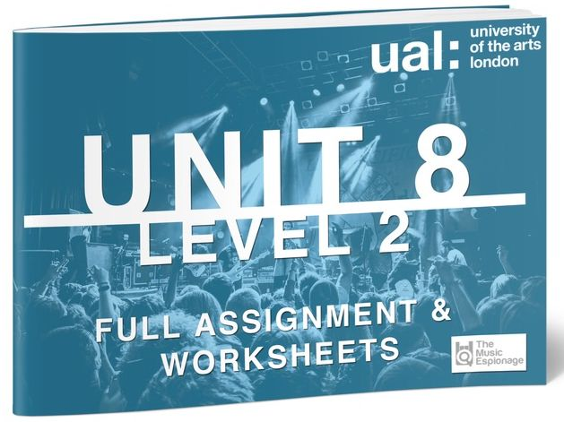 UAL-Level 2-Unit 8-Music Performance and Production Project-FULL UNIT