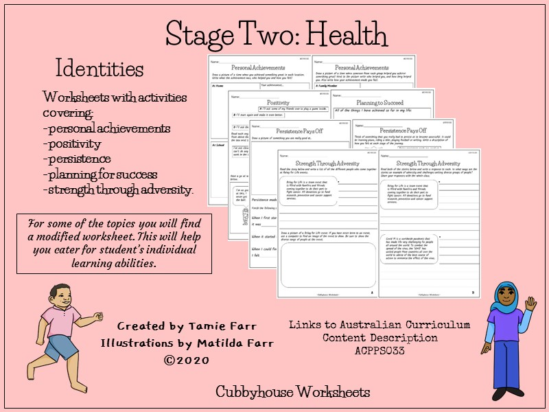 Stage 2 Health: Identities
