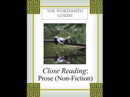 Close Reading: Prose (Non-Fiction), Student Edition