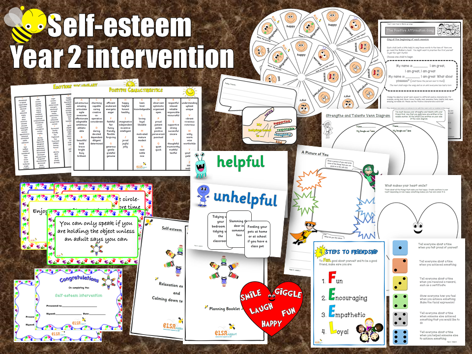 Self-esteem Year 2 intervention