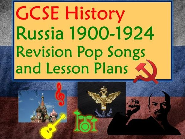 GCSE Tsarist Russia 1900 Revision Lesson and Song - Don't Look Back in Anger