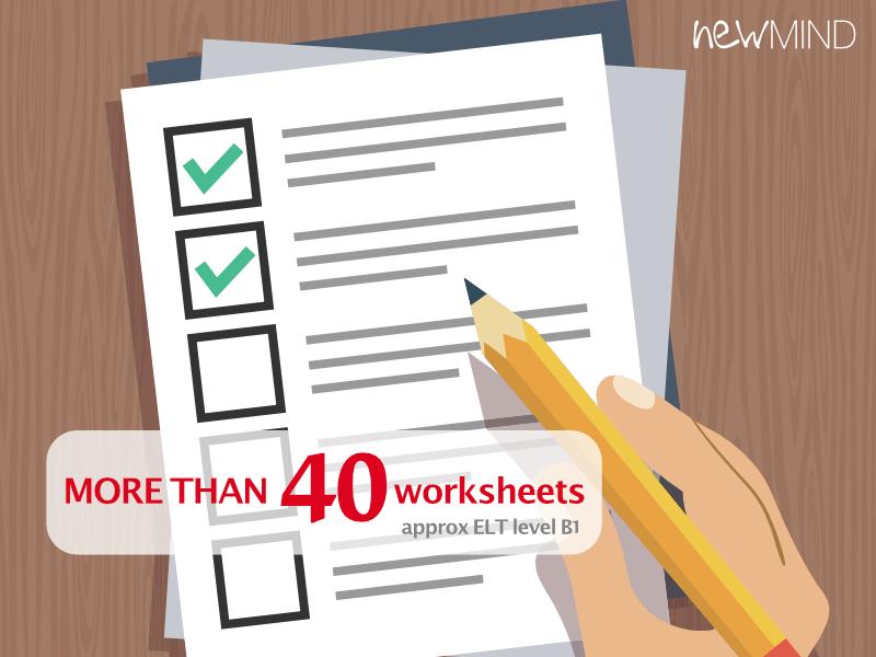 40+ worksheets (EFL) B1–B2