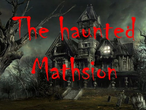Haunted Mathsion! A spooky escape game for GCSE maths foundation level revision.