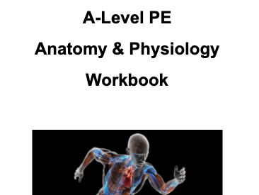Anatomy & Physiology Bundle (A-Level PE)