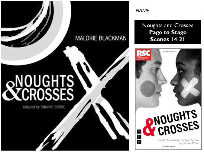 GCSE Drama Home Learning - Noughts and Crosses - AQA Scenes 14-21