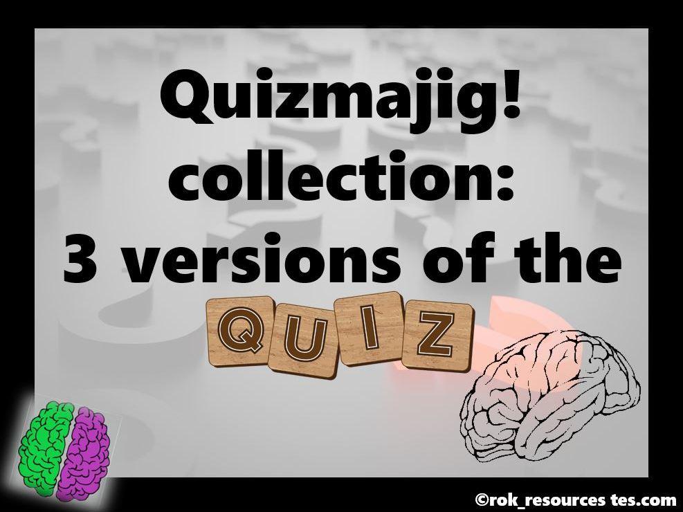 Quiz collection - Quizmajig!