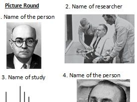 Social Influence - Revision - Pub Quiz Style