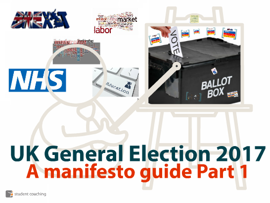 UK General Election 2017: A manifesto guide Part 1