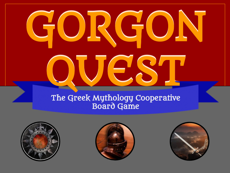 Gorgon Quest Greek Mythology Board Game