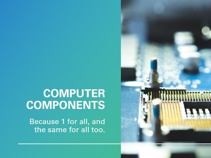 Computer Components Intro - PowerPoint