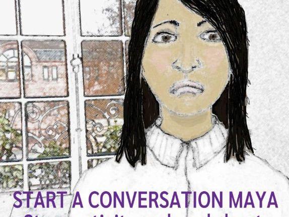 Start a Conversation Maya - story activity and lesson