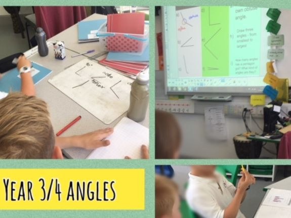 Recognising and identifying obtuse, acute and right angles KS2 Year 3/4