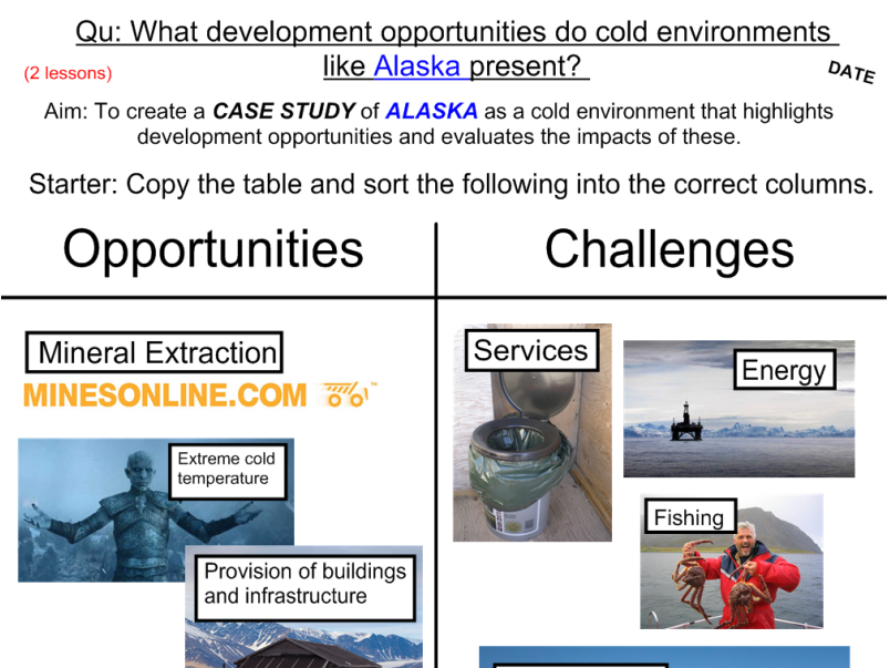 Development Opportunities in Alaska