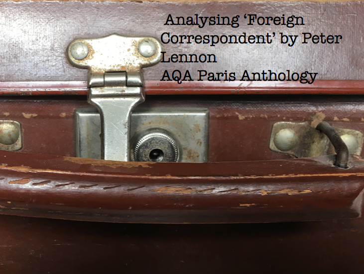 AQA Paris Anthology for English Lang. and Lit.: Foreign Correspondent by Peter Lennon