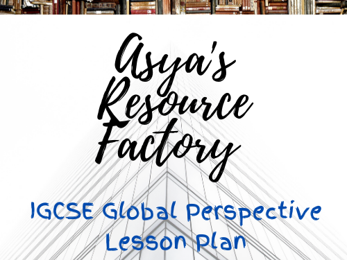 IGSCE Global Perspectives:  Chinese investment in Africa Lesson Plan