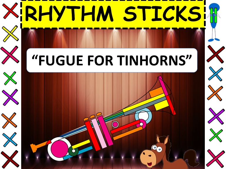 "Rhythm Sticks: Musicals: ""Fugue for Tinhorns"" from Guys and Dolls"